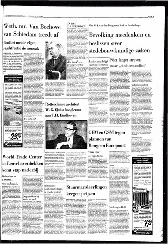 Rotterdamsch Nieuwsblad / Schiedamsche Courant / Rotterdams Dagblad / Waterweg / Algemeen Dagblad 1968-06-21