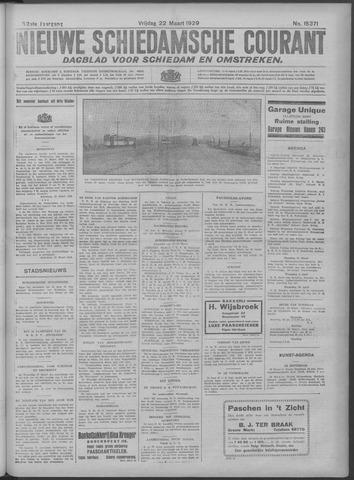Nieuwe Schiedamsche Courant 1929-03-22