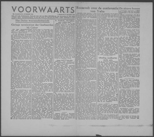 Voorwaarts 1945-03-02