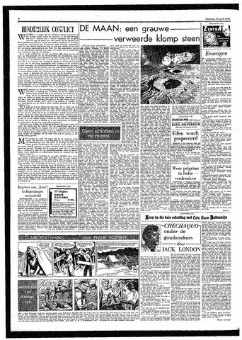 Rotterdamsch Parool / De Schiedammer 1957-04-13