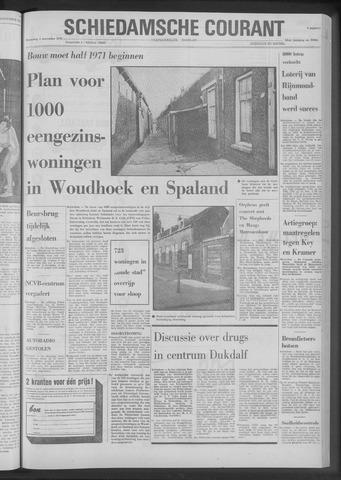 Rotterdamsch Nieuwsblad / Schiedamsche Courant / Rotterdams Dagblad / Waterweg / Algemeen Dagblad 1970-11-04