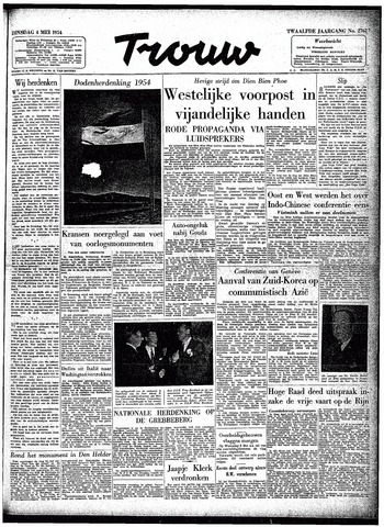 Trouw / De Rotterdammer 1954-05-04