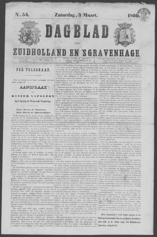 Dagblad van Zuid-Holland 1860-03-03
