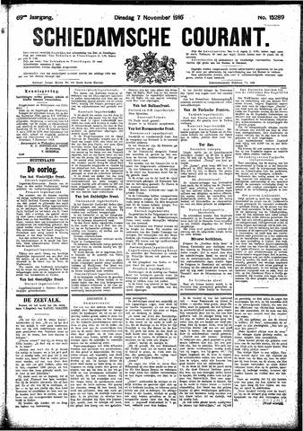 Schiedamsche Courant 1916-11-07