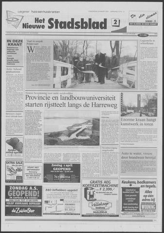 Het Nieuwe Stadsblad 2001-03-29