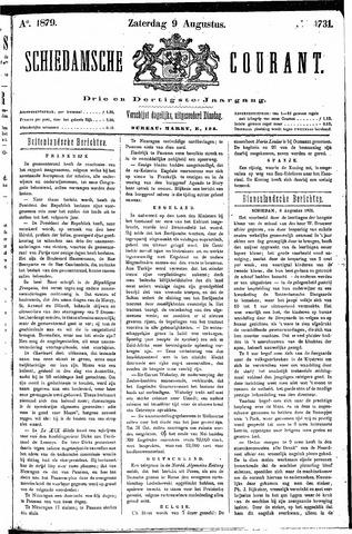 Schiedamsche Courant 1879-08-09