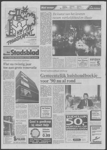 Het Nieuwe Stadsblad 1989-09-20