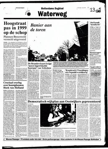 Rotterdamsch Nieuwsblad / Schiedamsche Courant / Rotterdams Dagblad / Waterweg / Algemeen Dagblad 1998-03-11