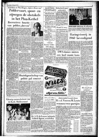 Rotterdamsch Parool / De Schiedammer 1961-02-01
