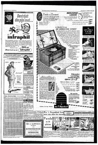 Rotterdamsch Nieuwsblad / Schiedamsche Courant / Rotterdams Dagblad / Waterweg / Algemeen Dagblad 1953-02-02