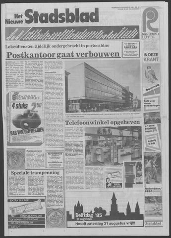 Het Nieuwe Stadsblad 1985-08-28