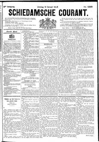 Schiedamsche Courant 1908-01-12