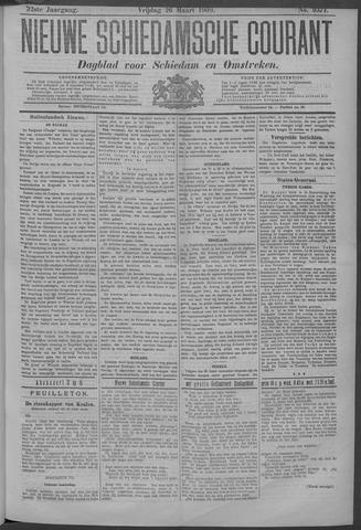 Nieuwe Schiedamsche Courant 1909-03-26