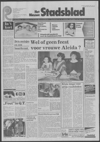 Het Nieuwe Stadsblad 1984-02-10