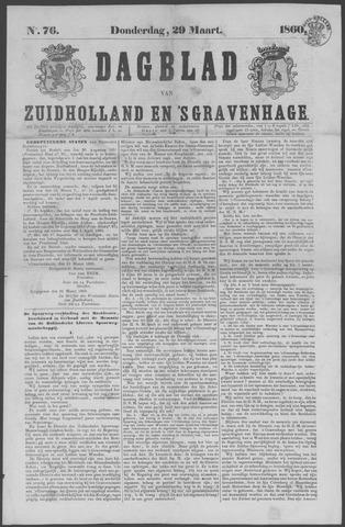 Dagblad van Zuid-Holland 1860-03-29