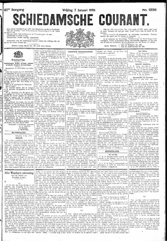 Schiedamsche Courant 1910-01-07