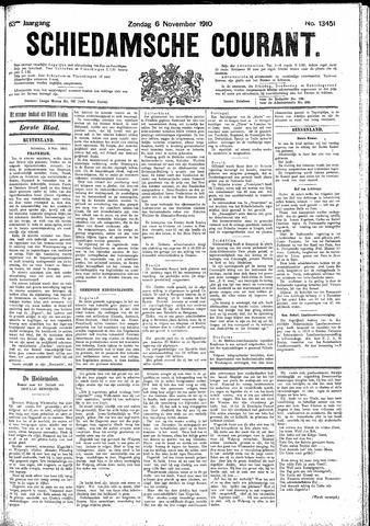 Schiedamsche Courant 1910-11-06
