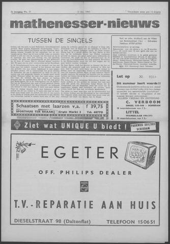 Mathenesser Nieuws 1963-12-12