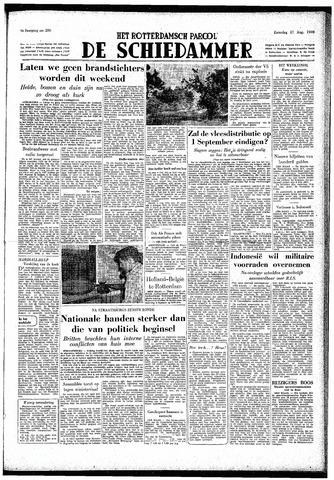 Rotterdamsch Parool / De Schiedammer 1949-08-27