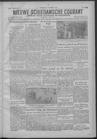Nieuwe Schiedamsche Courant 1946-10-18
