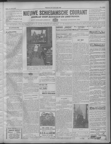 Nieuwe Schiedamsche Courant 1932-01-29