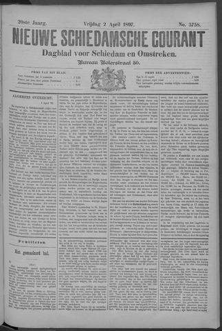 Nieuwe Schiedamsche Courant 1897-04-02