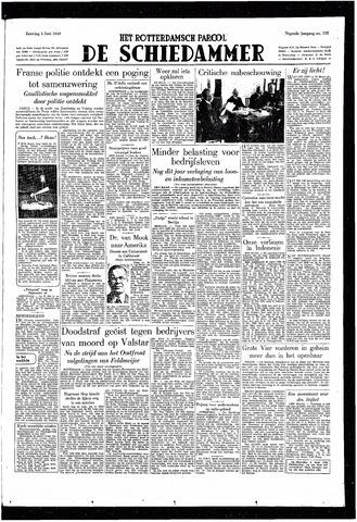 Rotterdamsch Parool / De Schiedammer 1949-06-04