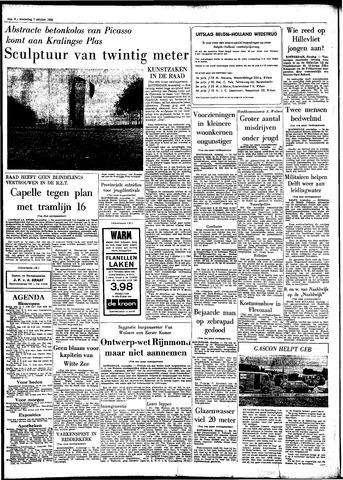Rotterdamsch Parool / De Schiedammer 1964-10-07