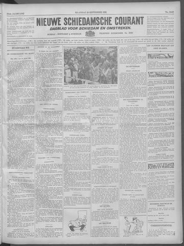 Nieuwe Schiedamsche Courant 1932-09-26