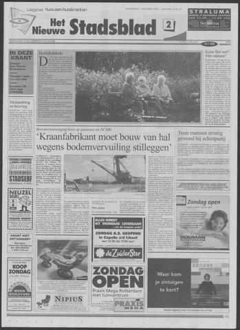 Het Nieuwe Stadsblad 2001-11-01