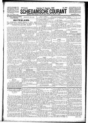 Schiedamsche Courant 1929-08-17