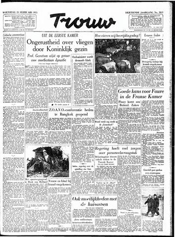Trouw / De Rotterdammer 1955-02-23