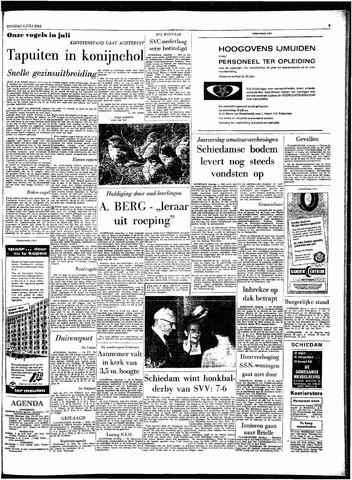 Rotterdamsch Parool / De Schiedammer 1963-07-09
