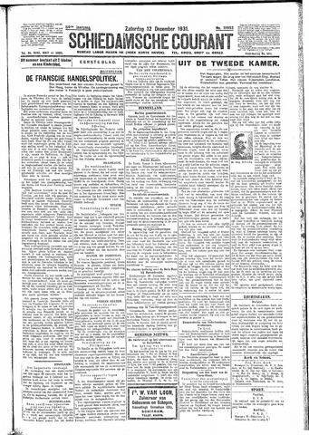 Schiedamsche Courant 1931-12-12