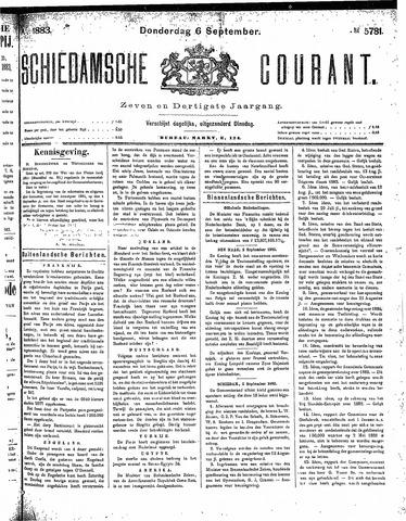 Schiedamsche Courant 1883-09-06