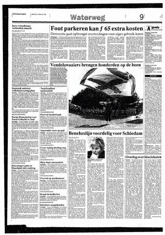 Rotterdamsch Nieuwsblad / Schiedamsche Courant / Rotterdams Dagblad / Waterweg / Algemeen Dagblad 1993-09-13