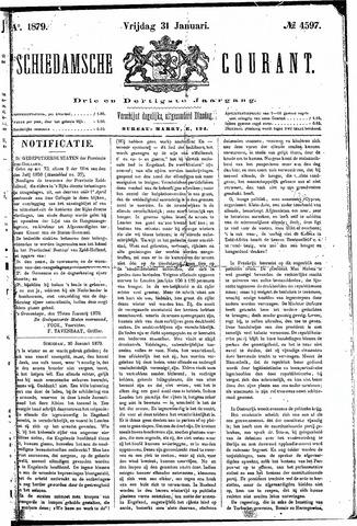Schiedamsche Courant 1879-01-31