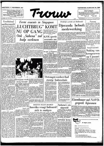 Trouw / De Rotterdammer 1957-12-11