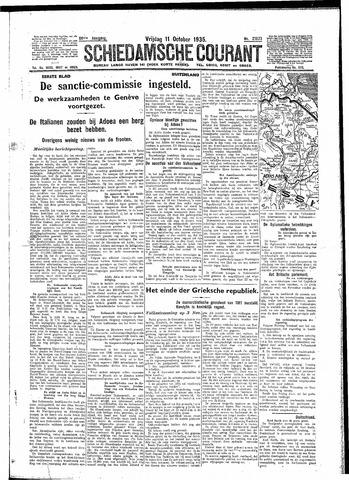 Schiedamsche Courant 1935-10-11