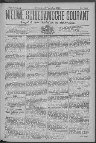 Nieuwe Schiedamsche Courant 1909-11-03