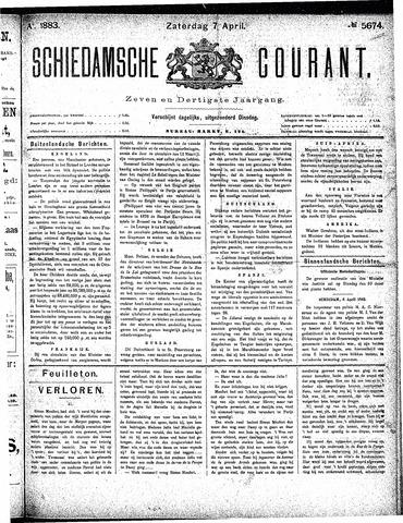 Schiedamsche Courant 1883-04-07