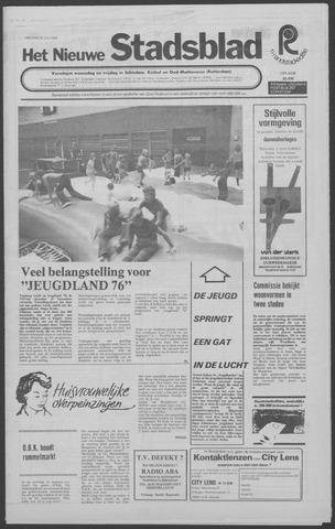 Het Nieuwe Stadsblad 1976-07-23