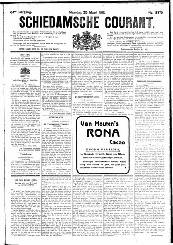 Schiedamsche Courant 1912-03-25