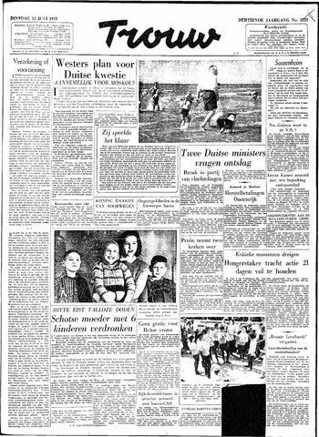 Trouw / De Rotterdammer 1955-07-12