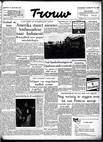 Trouw / De Rotterdammer 1958-01-21
