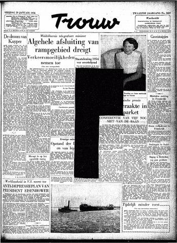 Trouw / De Rotterdammer 1954-01-29