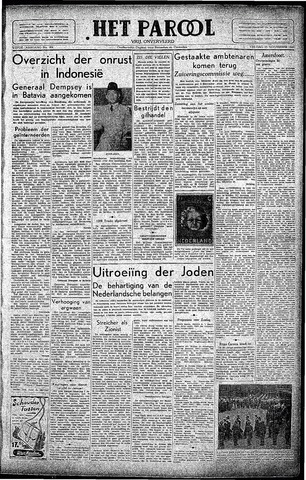 Rotterdamsch Parool / De Schiedammer 1945-11-23