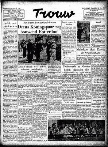 Trouw / De Rotterdammer 1954-04-27