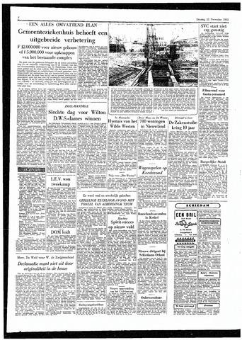 Rotterdamsch Parool / De Schiedammer 1955-11-22