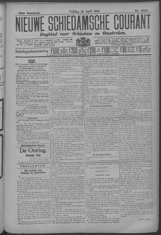 Nieuwe Schiedamsche Courant 1918-04-12